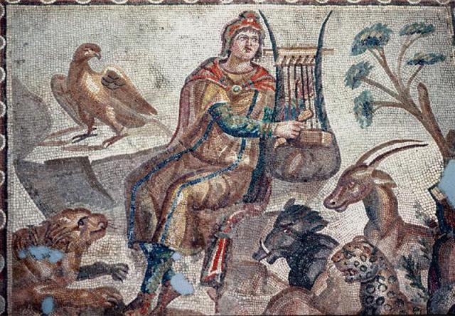 Antakya mosaic orpheus